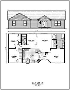 Small Ranch House Floor Plans | Floor Plans