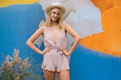 Faithfull the Brand White Sand Playsuit / RICA boutique