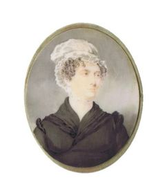 Eliza Yoder Poignand (1795-1883) miniature,  John Rutherford, watercolor on ivory, ca. 1820, Louisville. Exhibit, Kentucky, Miniatures, Ivory, Watercolor, Artist, Pen And Wash, Watercolor Painting, Watercolour