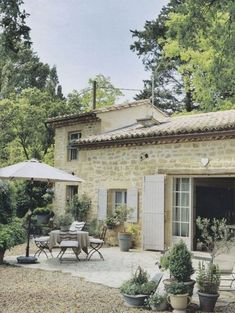 Rustic French Farmhouse stone exterior and courtyard. Rustic French Farmhouse stone exterior and courtyard. Country Stil, Estilo Country, Rustic French Country, French Country House, French Country Decorating, Country Homes, French Decor, Southern Homes, French Country Gardens