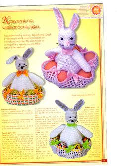 Szydełkowa Wielkanoc - Dorota Rzeźnikiewicz - Picasa Web Albums Easter Toys, Easter Gift, Crochet Ornaments, Handmade Ornaments, Easter Crochet Patterns, Easter Table Decorations, Holiday Crochet, Lace Decor, Handmade Home
