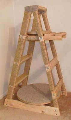 DIY Cat Scratching Post: Found on askville.amazon.com