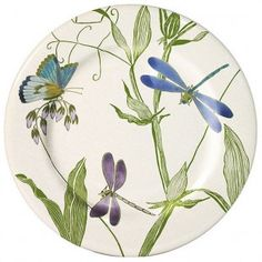 Dragonfly plate from Artedona