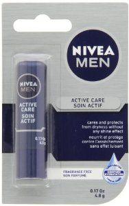 NIVEA MEN Active Lip Care 4.8g - http://womensfragrancesperfumes.com/beauty/nivea-men-active-lip-care-48g-ca/