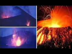 La Palma VOLCANO Shocking never seen before footage of huge ERUPTION on ...