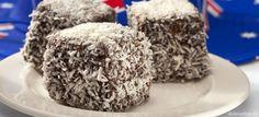 Máčané kokosové rezy