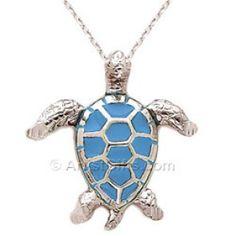 Silver Sea Turtle Pendant with Rich Enamel plus more sea turtle jewelry. Sea Turtle Jewelry, Turtle Necklace, Sea Turtle Gifts, Turtle Love, Silver Enamel, Jewelry Shop, Jewellery, Necklace Designs, Wedding Jewelry