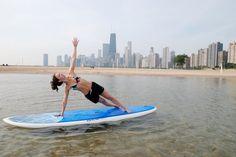 Paddle Boarding Yoga Chicago    #Paddleboardshop #paddleboard #paddleboarding