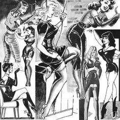 """Women, women, women - Illustration by Gene Bilbrew - Board """"Art - Gene Bilbrew"""" -"""