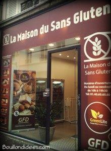 La maison du sans gluten boutique Paris