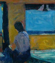 Richard Diebenkorn, Seated Girl by a Window, 1960