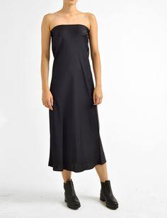 helena silk charmeuse dress