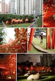 Arne Quinze's Red Beacon, Shanghai
