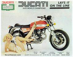 Ducati has a certain amount of sex appeal.