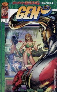 Gen 13 (1995 2nd Series) 2D Image Comics book covers Modern Age  2