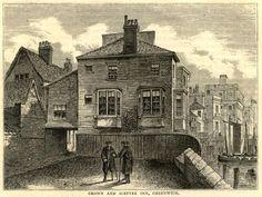 Crown & Sceptre, HIgh Bridge, Greenwich 1874? #thamesdiscovery #greenwichfrogs #greenwichpalace