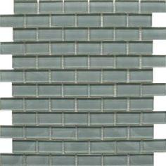 Smoke Grey Glass Brick Mosaics Tiles Mosaic Tiles