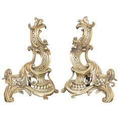 For Sale on - A pair of bookstands made in a Rococo style in Europe. Made of brass and shaped in C-curves and acanthus leaves. Modern Bookends, Wall Lights, Ceiling Lights, Rococo Style, Acanthus, Border Design, Wood Carving, Home Accents, Candle Sconces
