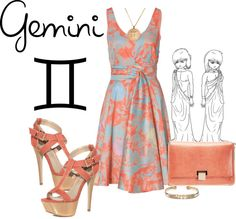Simply Gemini., created by hotlikefiyah on Polyvore