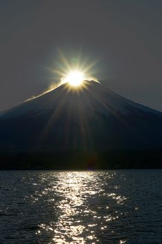 Diamond Mount Fuji, Japan