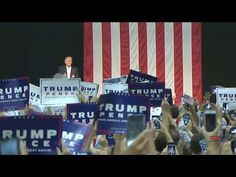 Saturday, August 13, 2016: Full replay of the Donald Trump rally at the William H. Pitt Center at the Campus of Sacred Heart University.
