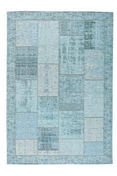 """Mit dem NOVEL Teppich """"Patch 33"""" richten Sie Ihr Zuhause harmonisch ein. Der Blickfang vermittelt auf den Maßen von ca. 60 x 90 cm eine moderne Farbfrische dank des Patchwork-Looks in Türkis. Die Oberfläche besticht durch das strapazierfähige Mischgewebe, das zu jeweils einem Drittel aus Baumwolle, Polyester und Polyacryl besteht. Ein Teppich mit Flair!"""
