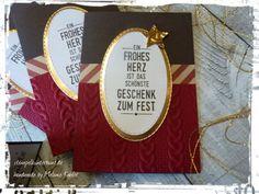 Weihnachtskarte, Bild 2, gebastelt mit Produkten von Stampin`Up !