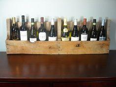 Pallet Wine Rack / Rustic Wine Shelf / Book by MyBrothersBarn, $38.00