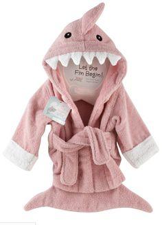 adorable shark robe