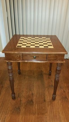 Handmade Chess Table with Chess Set & Coffee table Chess board by TheChessman on Etsy | Tv stands ...