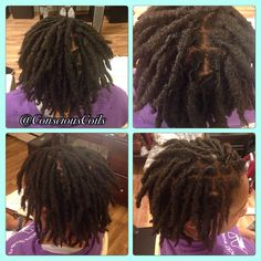 Style: Loc Retight/Loc Maintenance (Palm-rolled, twisted)  Client's Hair Type: 4b/c  Hair Added: NA Products Used: Coiled! by Conscious Coils (Original Refresher Spray and Loc & Styling Gel)   Time: 1hr 39mins  Style Duration: Retight every 4-5weeks  #consciouscoils #consciouscoilssalon #coiledbyconsciouscoils