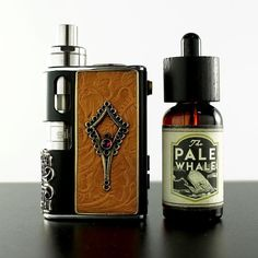 Vape with class. Pale Whale x custom Tandem Mod by ToeKnee Win. Available at www.beyondvape.com by vapeporn