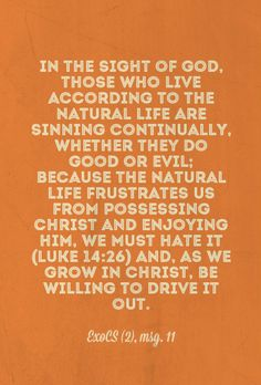 Being willing to Drive out our Natural Life by Growing in Christ  http://www.agodman.com/blog/being-willing-to-drive-out-our-natural-life-little-by-little-by-growing-in-christ/