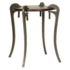 Check out this item at One Kings Lane! Vincent Accent Table, Pewter