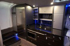 New 2012 Formula Boats 400 FX8 Cruiser Boat Kitchen Area - Amazing!