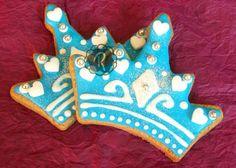 Ramadevi: Coronas de Princesas – Azules con corazones - Kichink!