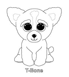 Print magic beanie boo coloring pages embroidery patterns