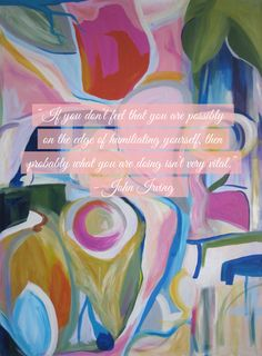 John Irving quote from Monday's Mediation// Live Simply by Annie