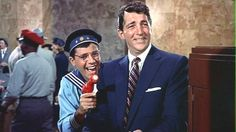 "Jerry Lewis and Dean Martin in ""You're Never Too Young"" 1955. Wilbur Hoolick: ""I'm going to be a space cadet!"""