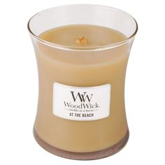 WoodWick Vintage Leather Candle in a glass jar. Fragrance never sounded so good! Buy now from our Manchester based shop.
