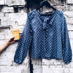 Доброе бодрое утро!🌞🌞🌞 У нас в наличии осталась последняя блуза с бантом в цвете синий меланж. Размер S. Стоимость со скидкой 500 грн.  К заказу доступны однотонные: красный, пыльная роза, хаки, слива, темно синий, серо-бежевый🌷