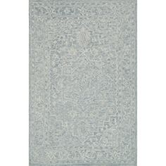 Hand-hooked Opal Slate Rug (3'6 x 5'6) - Free Shipping Today - Overstock - 22226535