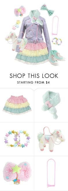 """Fairy kei #5"" by sweetpasteldream ❤ liked on Polyvore"