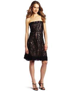 D.E.P.T. Women's Edgy Glamour Dress, Black, D.E.P.T