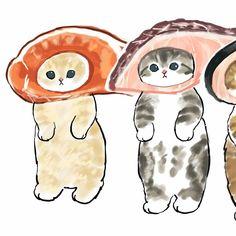 Kitten Drawing, Cute Cat Drawing, Cute Animal Drawings Kawaii, Cute Drawings, Cat Wall, Cute Cats And Kittens, Furry Art, Animal Memes, Cute Art