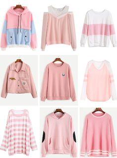 Kawaii Fashion | Pastel Fashion | Pastel Sweater | Pastel Jacket | Pink Sweater | Pink Jacket | Winter Fashion | Cute Clothing | Street Fashion | Japanese Fashion | Jfashion | Korean Fashion | Kfashion