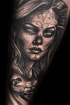 50 La Catrina Tattoo Designs For Men &; Mexican Ink Ideas 50 La Catrina Tattoo Designs For Men &; Mexican Ink Ideas Next Luxury nextluxury Tattoo Designs A profound affinity with […] tattoo videos Hand Tattoos, Sugar Skull Tattoos, Best Sleeve Tattoos, Wolf Tattoos, Tattoo Sleeve Designs, Tattoo Designs Men, Girl Tattoos, Skull Girl Tattoo, Girl Face Tattoo