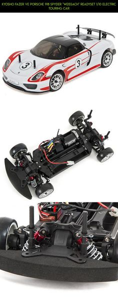"""Kyosho Fazer VE Porsche 918 Spyder """"Weissach"""" ReadySet 1/10 Electric Touring Car #parts #plans #racing #drone #918 #shopping #fpv #kyosho #technology #tech #products #gadgets #kit #camera"""