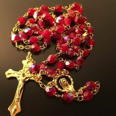 Rosary Prayer, Holy Rosary, Rosary Catholic, Catholic Gifts, Saint Peter Square, Lady Mary, Ruby Crystal, Pink Quartz, Mother Pearl