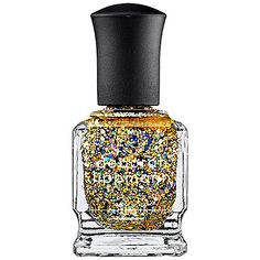 Deborah Lippmann Nail Lacquer - Glitter Item # 1541929 Size 0.50 oz Color Glitter And Be Gay - Candescent Canary Yellow $19.00